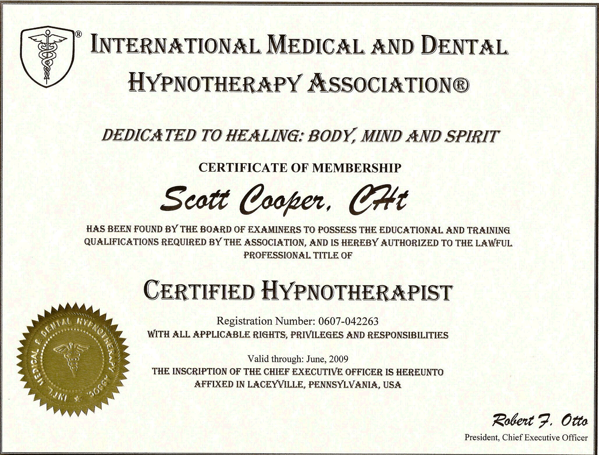 About Scott Cooper Hypnotherapy For Health And Happiness